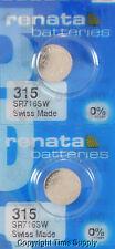 2 pcs 315 Swiss Renata Watch Batteries SR716SW SR716SW 0% MERCURY
