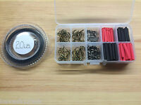 Pike & Game Fishing Trace Making Kit.Over 200 Pieces + a 10 Section Tackle Box.