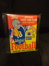 1989 Topps NFL Football Wax Pack 15 picture cards 1 sticker 1 stick gum