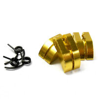 Nitro Engine 3 Shoe Aluminium Clutch with Spring Yellow .21 to .28 + 1/8 Scale