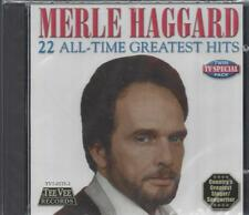 MERLE HAGGARD 22 ALL-TIME GREATEST HITS Mama Tried Roots Of My Raising NEW CD