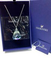Swarovski 5521034 Spirit Necklace, DROP-SHAPED Large Blue Crystal RHS Authentic