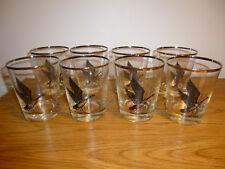 "8 EA CANADA GOOSE  ON THE ROCK GLASSES - 4 1/2 "" TALL"