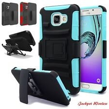For HTC 10 / One M10 Heavy Duty Stand Case Armor Belt Clip Holster Box Cover
