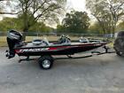 2017 Tracker Bass Pro Team 175 TXW 17.5 Ft. Aluminum 500 Miles Black Boat Mercur