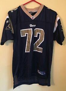 St. Louis Rams #72 Chris Long Kids Reebok NFL Football Jersey Kids XL