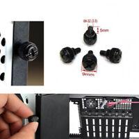 10X Computer Gehäuse Schrauben PCI Slot Blech PSU Netzteil Schr Grobgewinde