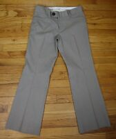 BANANA REPUBLIC TROUSER NO. 323 MARTIN FIT - WOMEN'S GRAY PINSTRIPE PANT SIZE 8P