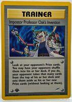 1st Edition Impostor Professor Oak's Invention Neo Destiny 94/105 NM/M TRAINER