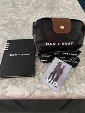 Dan and Shay The Arena Tour 2020 VIP merch New Small Bag, lanyard, journal