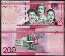DOMINICAN REPUBLIC 200 Pesos - issue 2016 - UNC