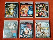 USED - JOBLOT of 6 FIGHTING games - for Sony PlayStation 3