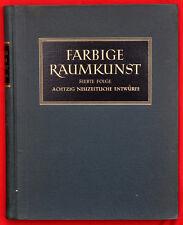 Farbige Raumkunst L'abitazione moderna in riproduzioni policrome 1942  D302