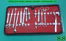 20 PC O.R GRADE OFFICE EYE MICRO MINOR SURGERY OPHTHALMIC SET KIT