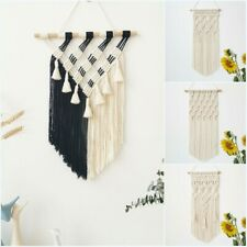 Boho Woven Tassel Tapestry Macrame Wall Hanging Tapestries Home Decoration Gifts