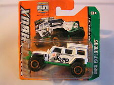 MATCHBOX  JEEP WRANGLER SUPERLIFT MADE IN THAILAND