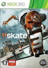 Used Xbox 360 Skate 3 MICROSOFT JAPAN JAPANESE JAPONAIS IMPORT