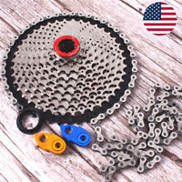 MTB Bike Cassette Chain 11-40/42/46/50 Sprocket KMC 8/9/10/11S Chains Derailleur