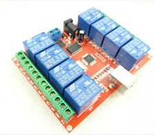 8-way control switch 12V computer USB drive free relay module