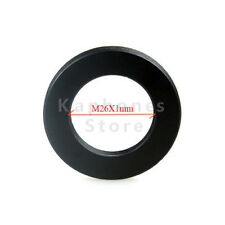 Aluminum Black Camera Adapter For ROBOT Mount Adapter M26 x 1mm to M42