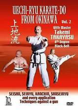 Uechi-Ryu Karate-Do from Okinawa, Vol. 2: Techniques Against a Gun (DVD, 2013) A