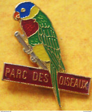 French Rainbow Lorikeet - like RSPB bird pin badges