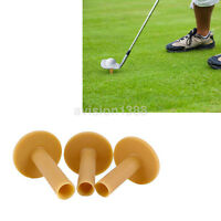 3pcs 60/70/80mm Rubber Driving Range Golf Tees Holder Tee Practice Mat New US