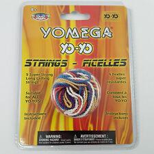 Yo-Yo Replacement Strings by YOMEGA 5 Strings Multi-Colored Fits all Yo-Yo toys