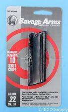 Savage 10 RD Round Magazine 22 LR Models 62 64 954 Genuine Clip Mag NEW 30005