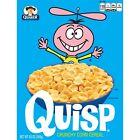 Quaker Quisp Breakfast Cereal, 8.5 oz, 12 Boxes