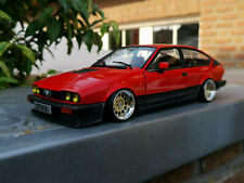 "Modellauto Alfa Romeo GTV 6  mit 15"" Ronal-Alufelgen 1:18 Tuning/Umbau"