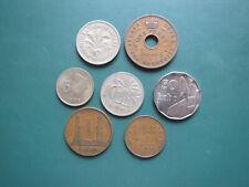 7 versch. Münzen Nigeria s. Aufstellung