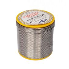 New 400g 1mm 6040 Tin Lead Solder Rosin Flux Wire Roll Soldering New