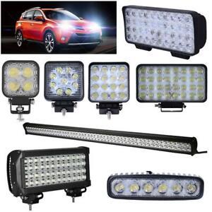 12W 18W 48W 96W LED Arbeitsscheinwerfer Offroad Strahler 12V/24V Arbeitsleuchte