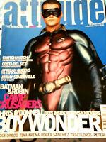 1995 Attitude Magazine Chris O'Donnell Batman~Tina Arena~Peter Andre~Traci Lords