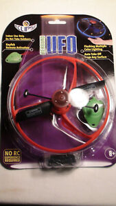 2 ECLIPSE REBOUND UFO TOYS RED & BLUE INDOOR USE AGES 8+ NEW IN PACKAGES