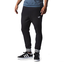 Adidas Men's Low Crotch SP Black Modern Sweat Pants AB7820 NEW!