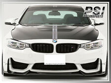 VR Style Carbon Fiber Front Bumper Add-On Lip For BMW F82 M4 F80 M3 2015+ Only