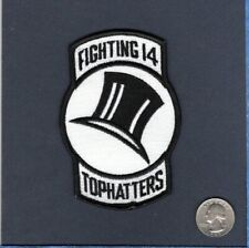 VF-14 TOPHATTERS US NAVY F-14 TOMCAT F-4 PHANTOM F-3H Fighter Squadron Patch