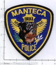 California - Manteca K-9 CA Police Dept Patch