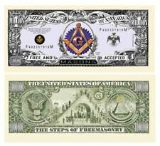 Freemason - Masonic Million Dollar Bill - Set of 100