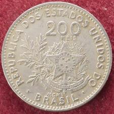 Brasil 200 Reis 1901 (D2007)