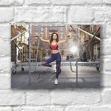 Selena Gomez Poster A4 NEW 2018 Hot Sexy Women Autograph Signed
