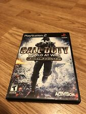 call of duty World Ar war Ps2 VC3