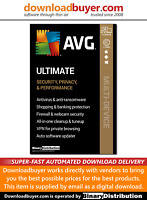AVG Ultimate 2020 with Secure VPN - 10 Devices - 3 Years [Download]