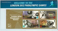 2012 WELCOME TO LONDON, PARALYMPIC GAMES PRESENTATION PACK NO 475