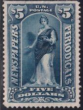 US STAMP BOB #PR121 $5 1895-97 Newspaper Periodicals Stamp UNUSED NG  $13
