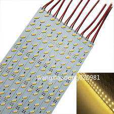 5M 10pcs 0.5M 7020 36 LEDs AL Rigid Hard Led Bar Strip Warm White Light 12V DC