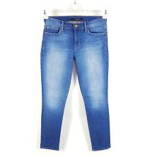 J Brand Jeans Skinny Leg Karma Damen W27 L30 Blau Slim Stretch Ripped Jeggings