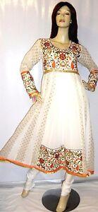 Shalwar kameez eid pakistani designer frock indian salwar sari abaya suit uk 8